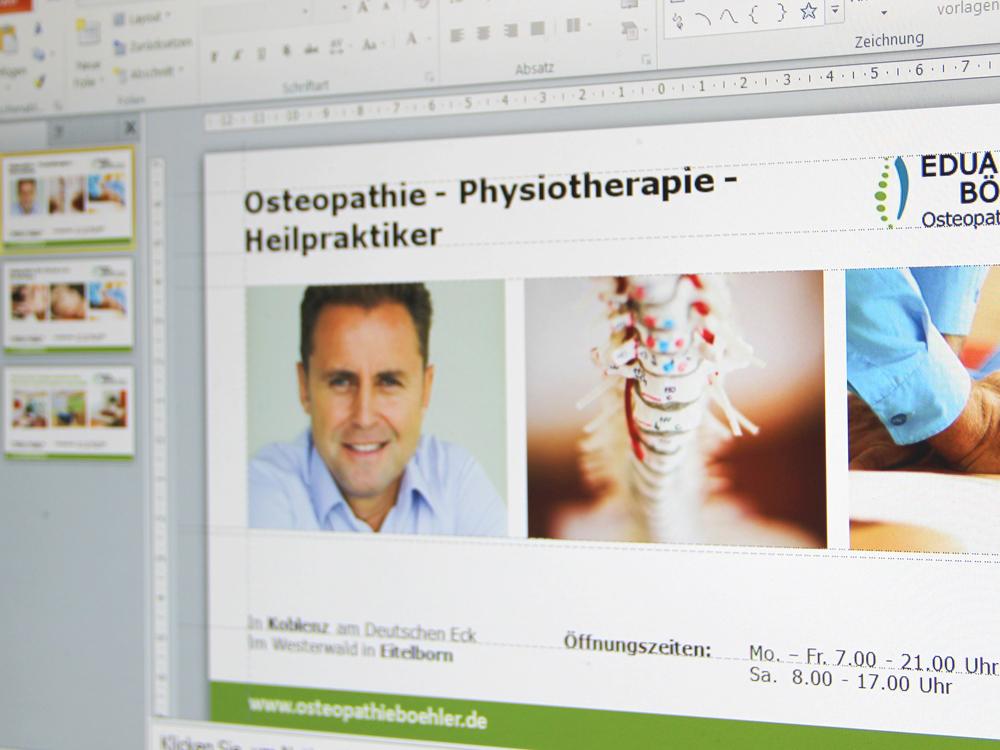 schéma type PowerPoint