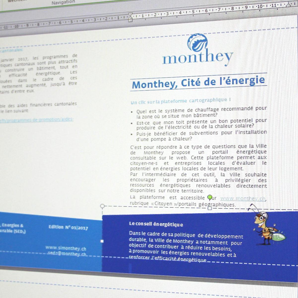 Flyer, Wordvorlage